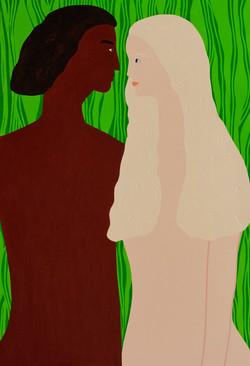 Adam and Eve 130x100cm