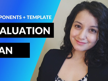 Evaluation Plan Components Made Easy for Nonprofits and Coalitions