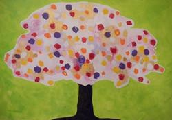 Tree 130x100cm
