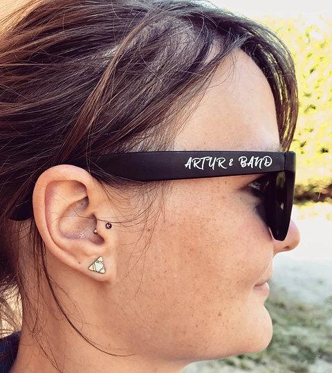 Sonnenbrille | Artur und Band | schwarz matt