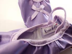 Ballettschuh Violett