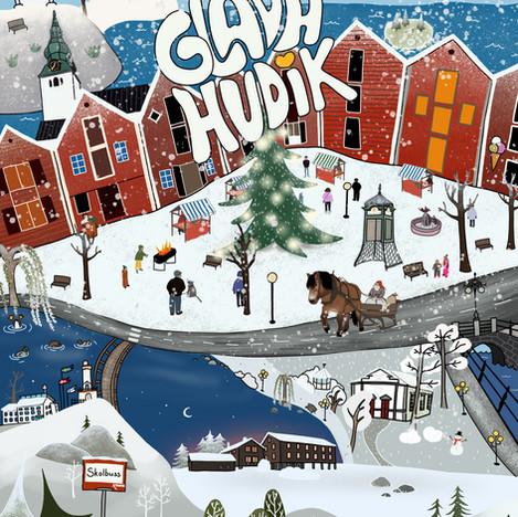 Glada Hudik Vinter