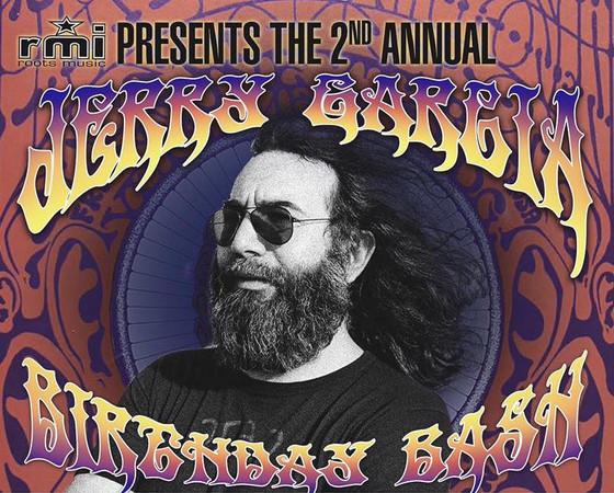 2nd Annual Jerry Garcia Birthday Bash