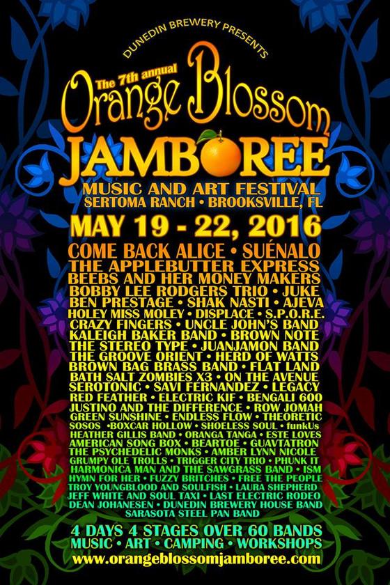 Orange Blossom Jamboree 2016
