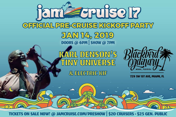 Jam Cruise Pre Party with Karl Denson