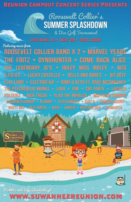 Roosevelt Collier's Summer Splashdown Festival 2016