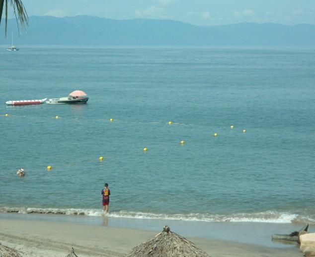 Blue Flag buoys