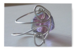 Purple Crush Wire Wrapped Ring