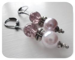 Lavender Bliss Drop Earrings