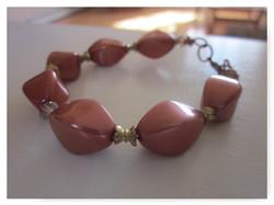Pumpkin Spice Beaded Bracelet