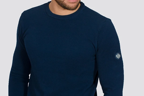 Bewley & Ritch  - Montana Long sleeved knitted -blue