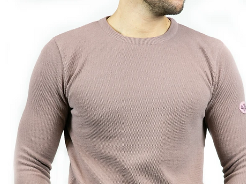 Bewley & Ritch  - Montana long sleeved knitted - dusky pink