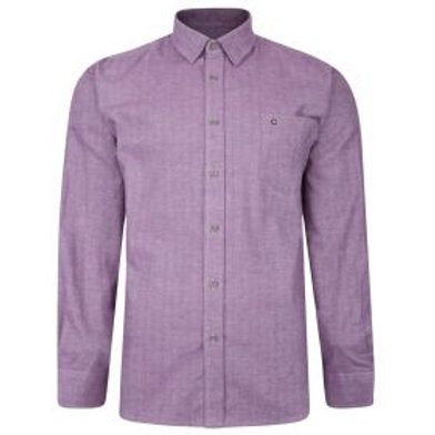 Peter Gribby - Supersoft  cotton shirt Lilac