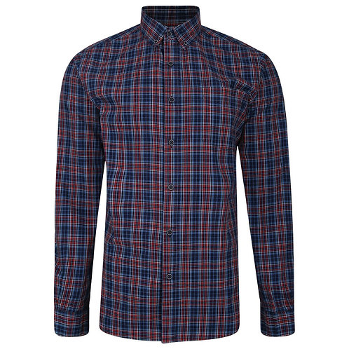Peter Gribby - Long Sleeved checked shirt