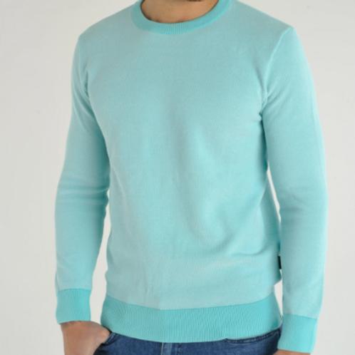 Bewley & Ritch - Lightweight Crew neck jumper - mint
