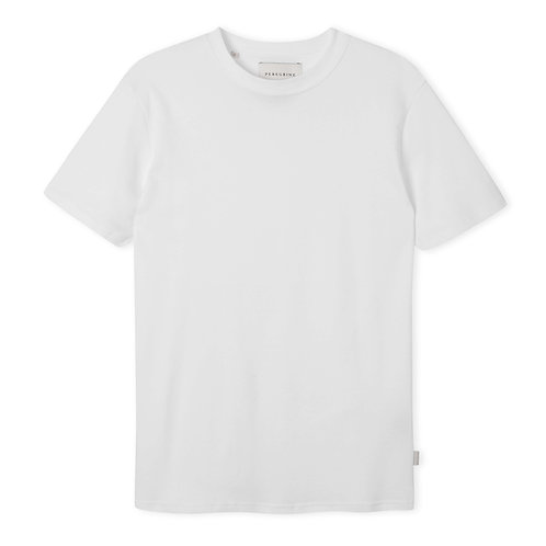 Peregrine - 100% Cotton Mie Tee - White