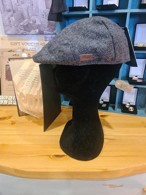 Peaky Blinder Hat - Grey Herringbone
