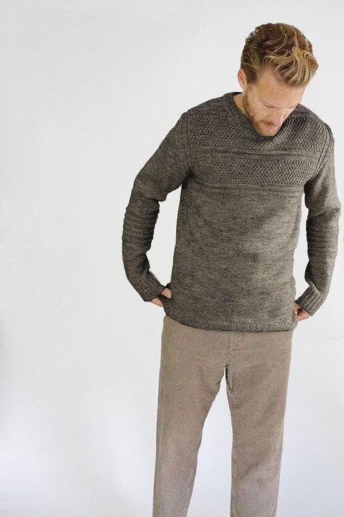 Peregrine Guernsey Crew - Dentdale - 100% Wool