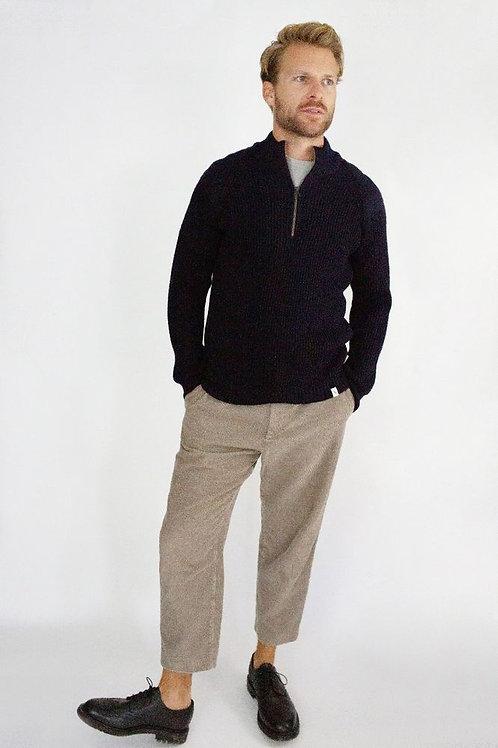 Peregrine Bond Zip Neck - 100% Merino Wool