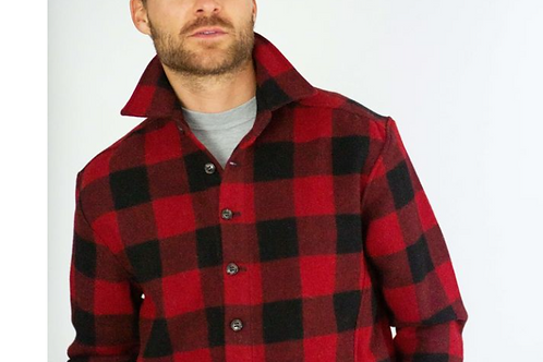 Peregrine 100% wool jacket check