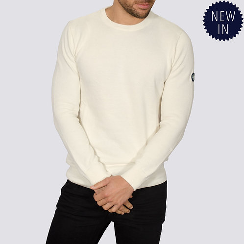 Bewley & Ritch  - Montana long sleeved  knitted - Ecru