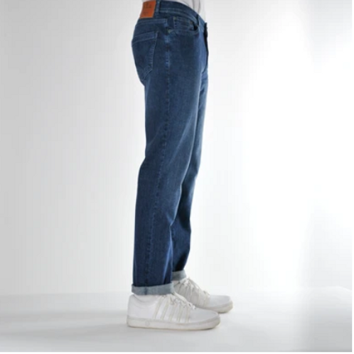 Bewley & Ritch mid wash blue jeans