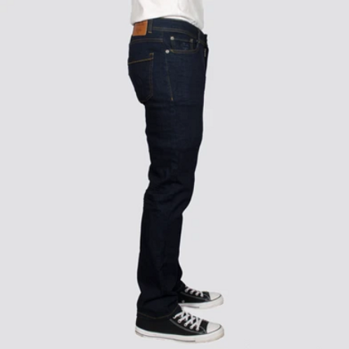 Bewley & Ritch  - Straight Jeans with stretch - raw blue