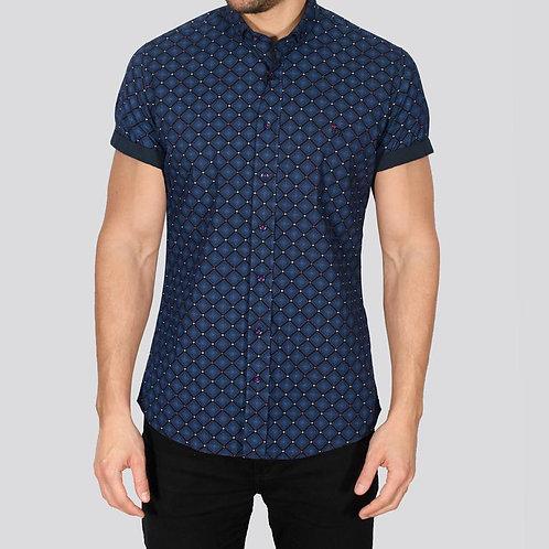 Bewley & Ritch Delah Navy Shirt