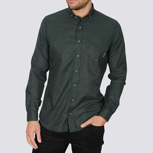 Bewley & Ritch Brushed Flannel Alaska shirt - Green