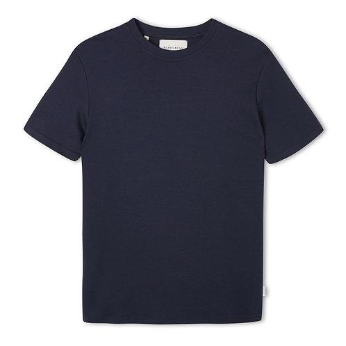 Peregrine - 100% Cotton Mie Tee - Navy