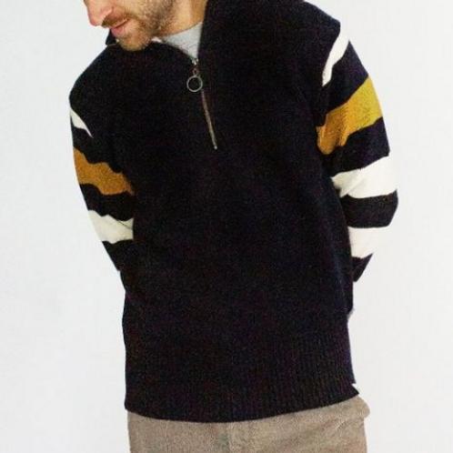 Peregrine Rovers Zip Neck - 100% merino wool