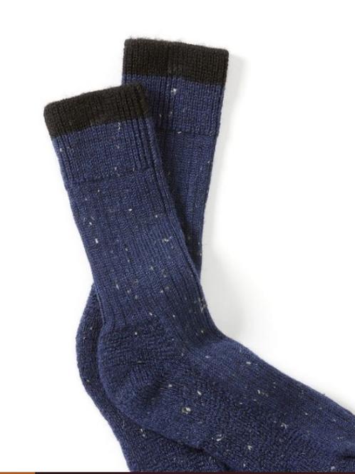 Peregrine - Wool Boot socks - navy