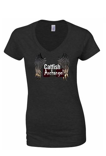Ladies Archangel t shirt large logo