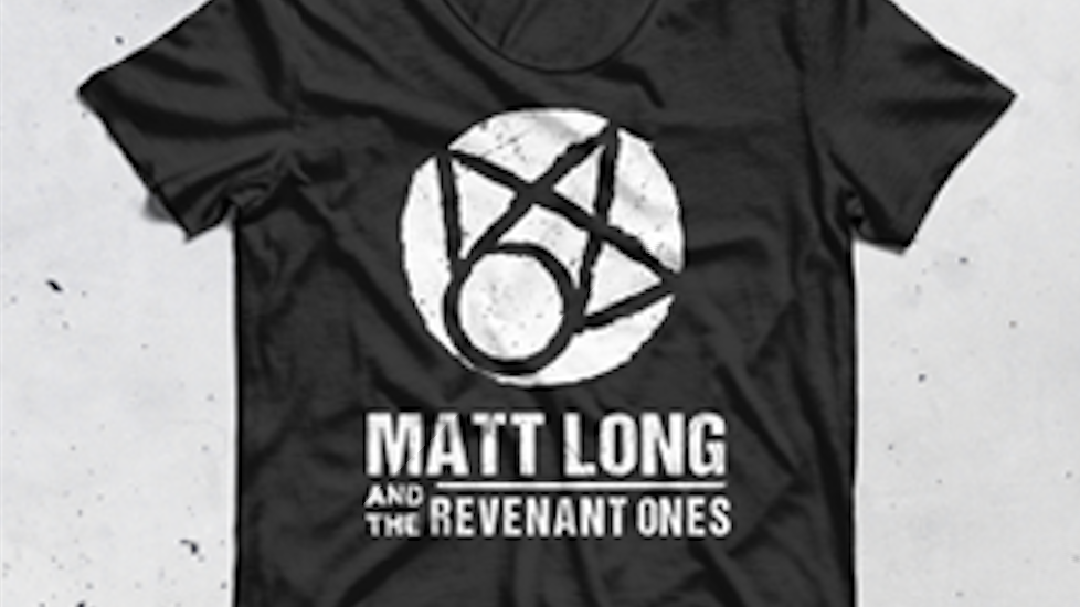 T shirt Matt Long and the Revenant Ones
