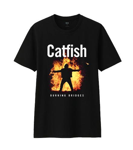 Burning Bridges T shirt mens