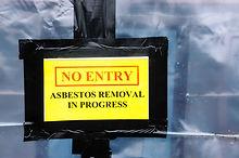 Warning sign at an Asbestos clean-up.jpg