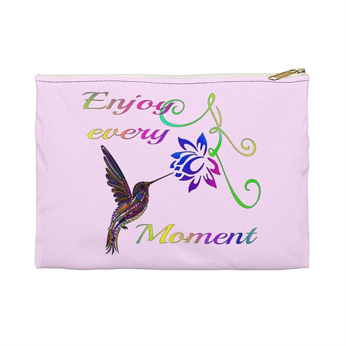 Enjoy every Moment Accessory Pouch