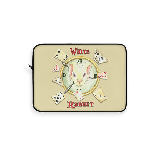 White Rabbit Laptop Sleeve