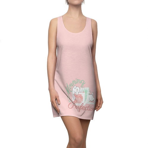 Morning Perfection Women's Cut & Sew Racerback Dress