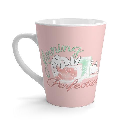 Morning Perfection Latte mug