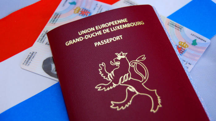 Luxembourgish nationality - Sproochtest