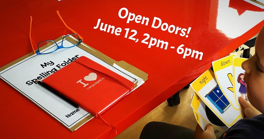 Open doors at Languages.lu