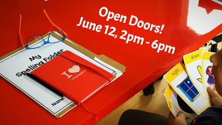 Open Doors!