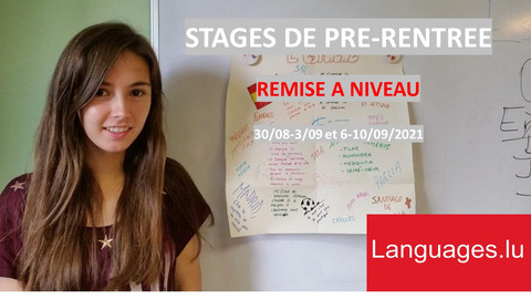 STAGES PRE-RENTREE - Revision camps