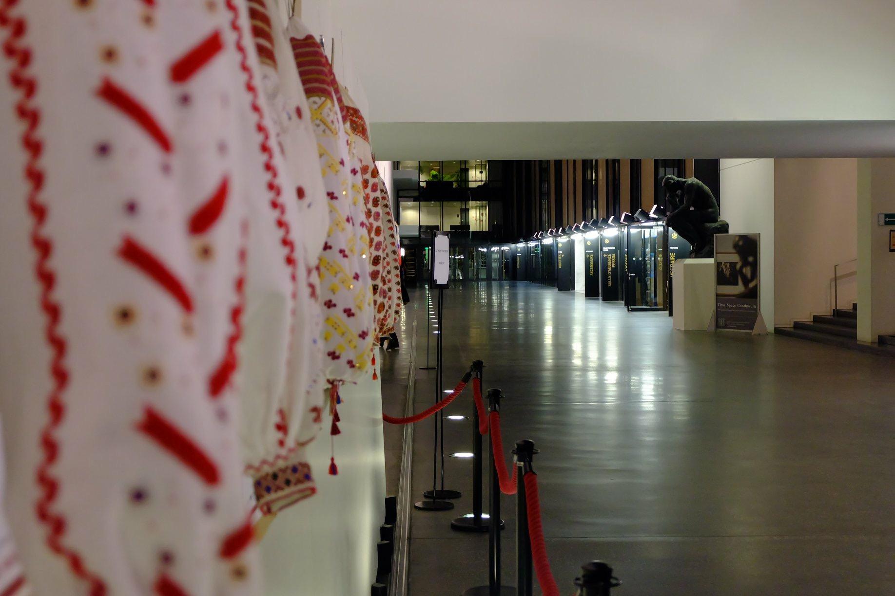 Exhibition of Romanian blouses IA