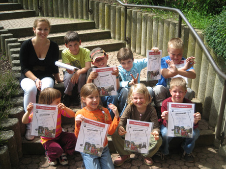 Language camps during Easter holidays