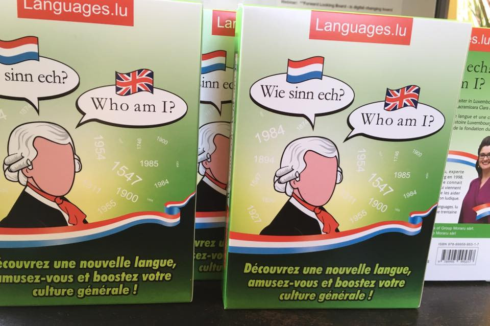 Flash cards Game Who am I? Wie sinn ech? in Luxembourgish