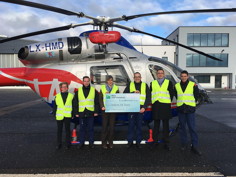 Donation Languages.lu Luxembourg Air Rescue