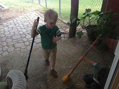 Montessori garden- Children's House of SA