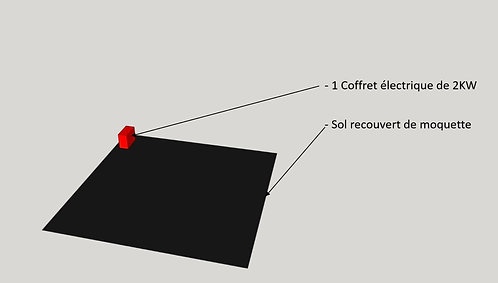 Stand semi-équipé de 9m²